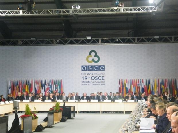 OSCE 2012 meeting.Photo:Martha Gberevbie