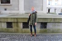 "Anna (22) ""A warm khaki coat"""