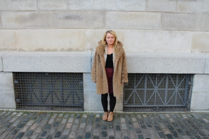 """Siobhan (20) """"A fur coat"""""""