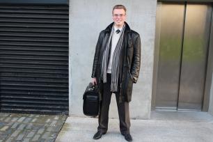 "Vitalij (19) ""Leather jacket and my suitcase"""