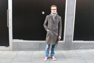 "Michael (23) ""A tweed jacket"""