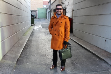 "Cormac (38) ""A good warm coat"""
