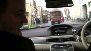 Traveling with The Lord Mayor in The Mayoral Car