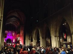 Inside St Patrick's cathedral for 'Dracula in the Cathedral', Saturday 26 October 2013. © Diarmaid Murray
