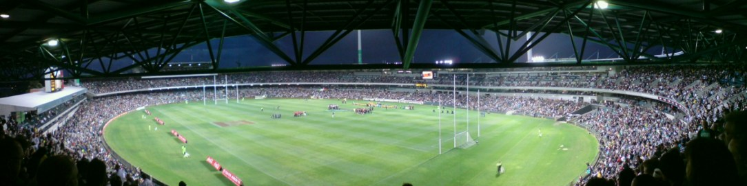 Attendances for the rules matches have been dwindling Down Under (Photo credit Michael Spencer on Flickr)