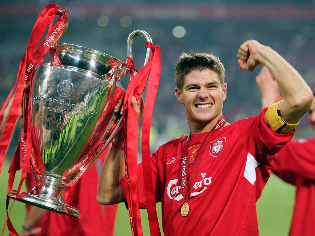 Gerrard in 2005. credit wiki.org