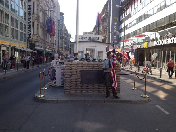 Berlin's Checkpoint Charlie