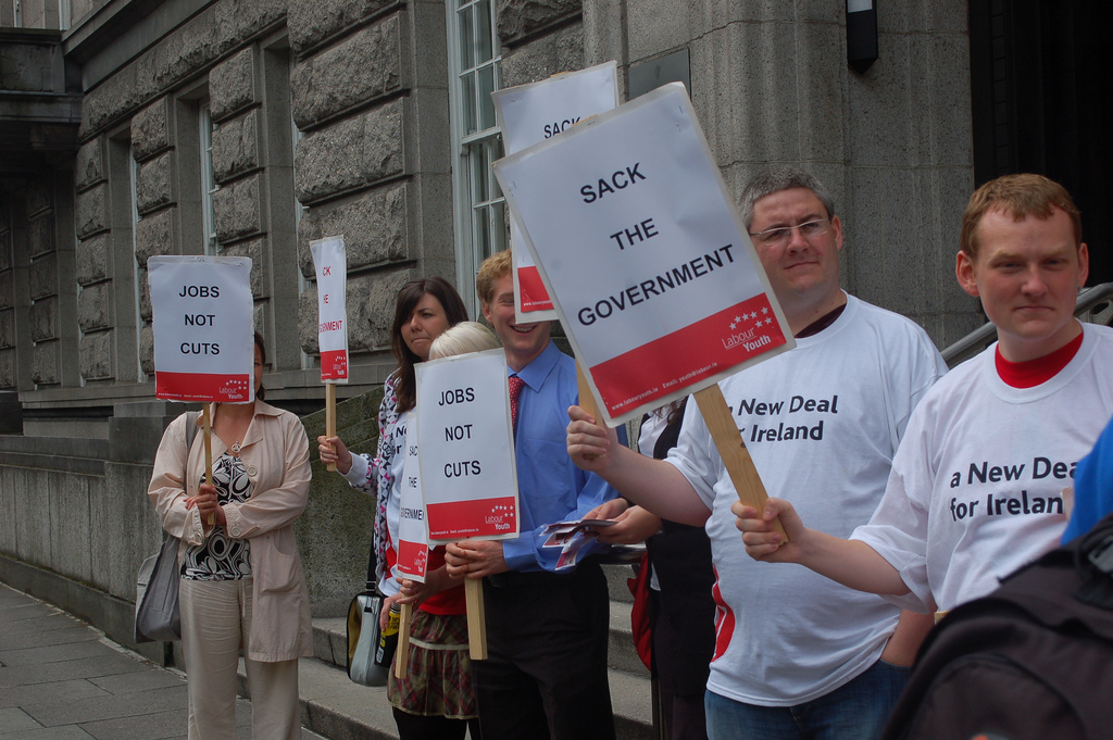 Irish politicians are no strangers to criticism. Credit: Labour youth on flickr