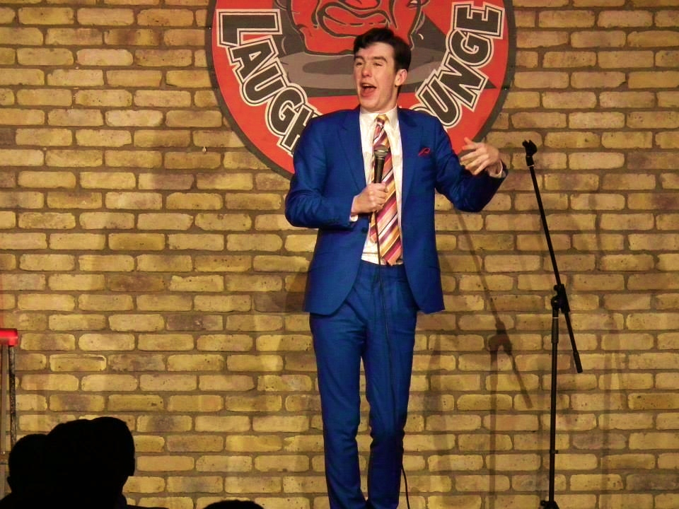Al is a regular feature on the Irish comedy circuit, performing here at the Laughter Lounge