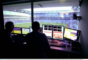 View from the control room in Croke Park Picture credit: Ray McManus / SPORTSFILE