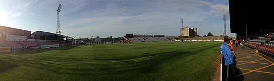 Dalymount Park will welcome back First Division football next season. Photo: Jack Pollock