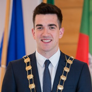 Mayor of South Dublin County Council Fintan Warfield