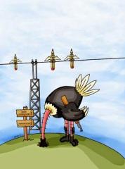 Freedom: The voice of silence Cartoon: by Ricardo Campus