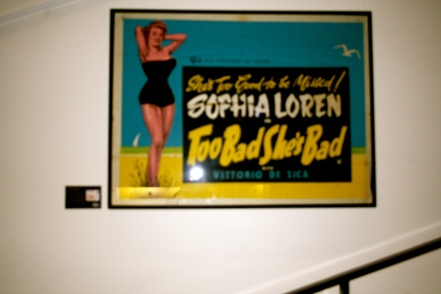Classic Film Posters in Light House Cinema, Smithfield. Photo by Rachael Hussey
