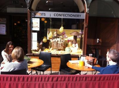 Easter window Display, McCambridges, Shop Street, Galway. Photo by Rachael Hussey