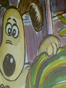 Wallace & Gromit - Concept Drawing