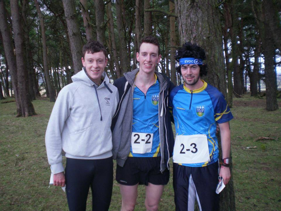 Colm Moran UCD Orienteering Captain. Photo courtesy of UCD Orienteering Facebook page