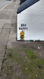 A Bee on New Bride Street Dublin, image by Hannah Lemass